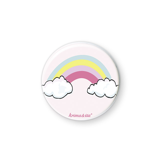 Button Regenbogen