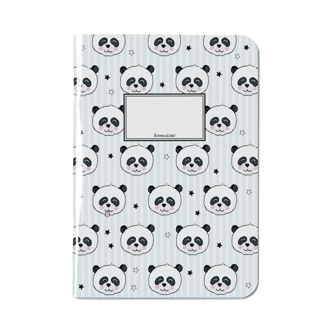 Notizheft Panda A5