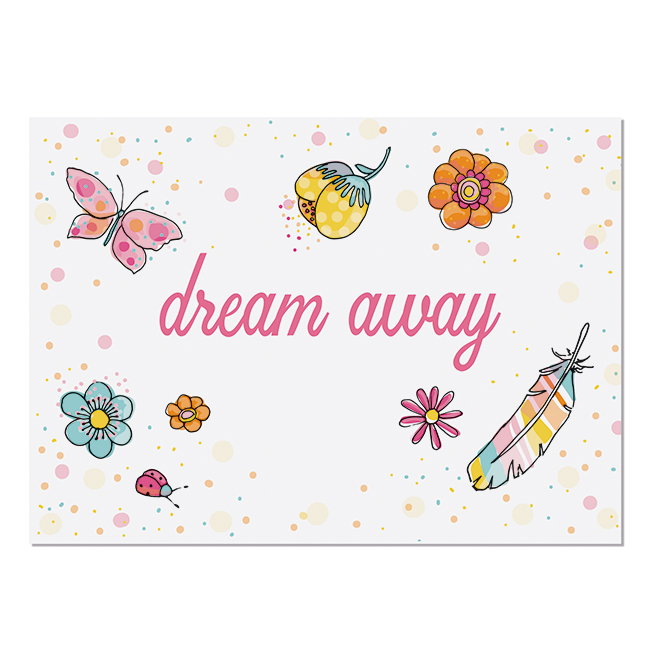 Postkarte Dream Away