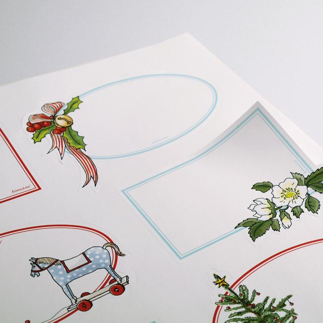sticker etiketten weihnachten krima isa shop. Black Bedroom Furniture Sets. Home Design Ideas