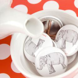Button Elefant