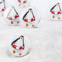 Button Pinguin