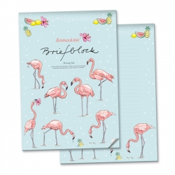 Briefblock Flamingo A4