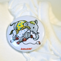 Button Elefant/Pferd