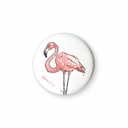 Button Flamingo