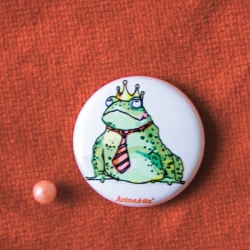 Button Froschkönig