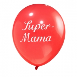 Luftballon Super-Mama