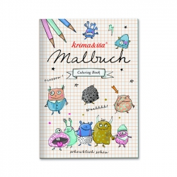 Malbuch Monster