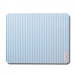 Mousepad Gestreift Blau
