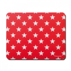 Mousepad Sterne Rot