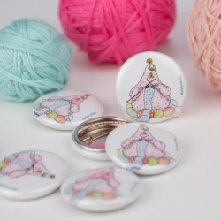 Button Strickhuhn
